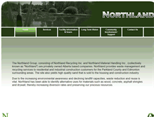 Tablet Preview of northlandrecycling.ca